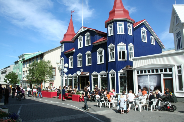 Downtown-Akureyri