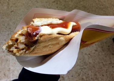 Icelandic hotdog!
